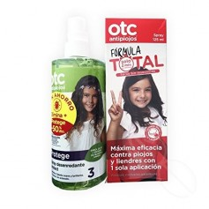 OTC PACK ANTIPIOJOS SPRAY FORMULA TOTAL + SPRAY DESENREDANTE FRESA (-50%DTO)