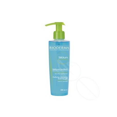 SEBIUM GEL MOUSSANT BIODERMA 200 ML