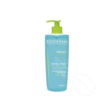 SEBIUM GEL MOUSSANT BIODERMA 500 ML
