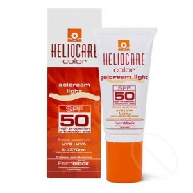 HELIOCARE COLOR GELCREAM SPF 50 PROTECTOR SOLAR LIGHT 50 ML