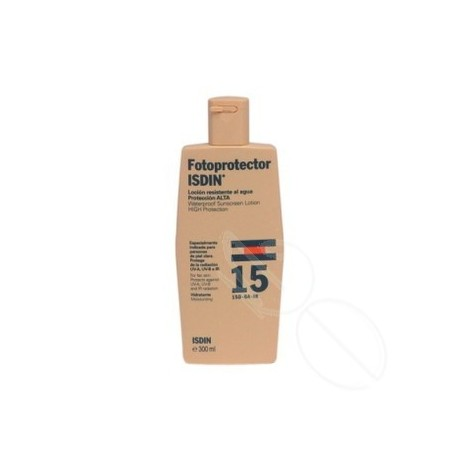 FOTOPROTECTOR ISDIN SPF-15 LOTION 300 ML