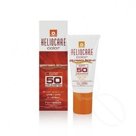 HELIOCARE COLOR GELCREMA SPF 50 PROTECTOR SOLAR BROWN 50 ML