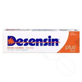 DESENSIN PLUS FLUOR PASTA DENTIFRICA 125 ML
