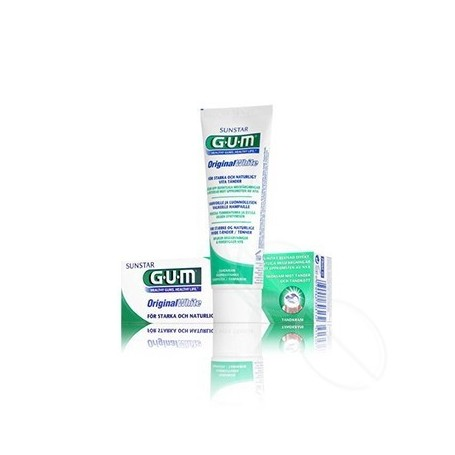 GUM ORIGINAL WHITE PASTA DENTAL 75 ML