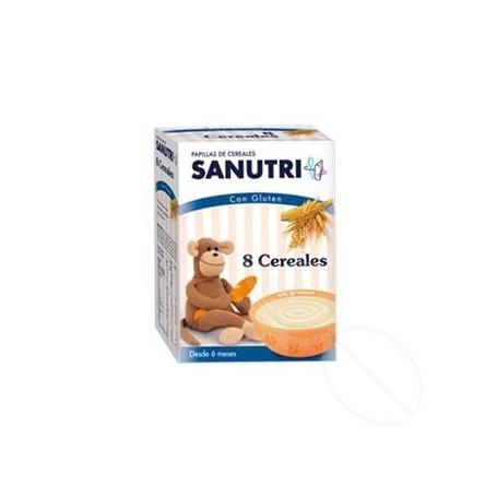 SANUTRI PAPILLA 8 CEREALES 600 G (300 G 2 BOLSAS)