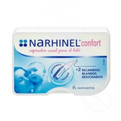 NARHINEL CONFORT ASPIRADOR NASAL 1 U +2 RECAMBIOS