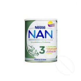 NAN OPTIPRO 3 PREPARADO LACTEO INFANTIL 800 G