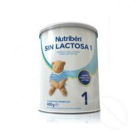 NUTRIBEN SIN LACTOSA 1 400 G 1 BOTE NEUTRO