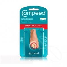 COMPEED AMPOLLAS HIDROCOLOIDE DEDOS PIES 8 U