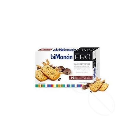BIMANAN PRO GALLETAS CEREALES CON CHOCOLATE 200 G