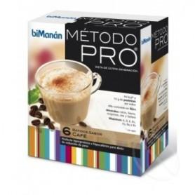 BIMANAN METODO PRO BATIDO HIPERPROTEICA E HIPOCALORICA CAFE 6 BATIDOS