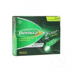 BEROCCA BOOST GO 14 SOBRES