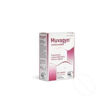 MUVAGYN CENTELLA ASIATICA MONODOSIS 5 ML 8 APLICACIONES