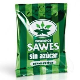 SAWES CARAMELOS BOLSA SIN AZUCAR BOLSA MENTA 50 G