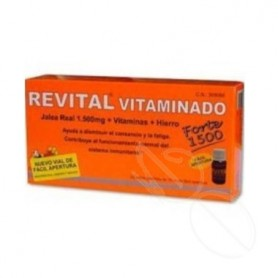 REVITAL JALEA REAL VITAMINADO AMP BEBIBLES 20 AMPOLLAS