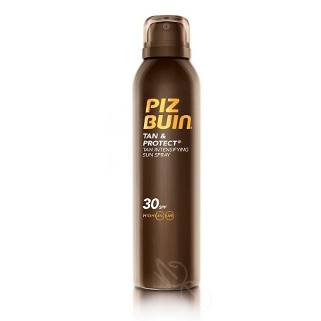 PIZ BUIN TAN & PROTECT FPS - 30 PROTECCION ALTA SPRAY SOLAR INTENSIFICADORA DE BRONCEADO 150 ML