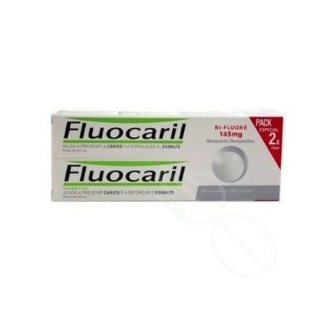 FLUOCARIL BIFLUORE 145 MG BLANQUEANTE 2 X 75 ML