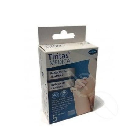 TIRITAS MEDICAL REDUCTOR DE CICATRICES 7,2 X 5 CM 5 U