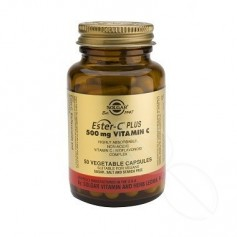 SOLGAR ESTER C PLUS 500 MG VITAMIN 50 TABLETAS