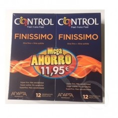 CONTROL FINISSIMO 12+12 PACK AHORRO