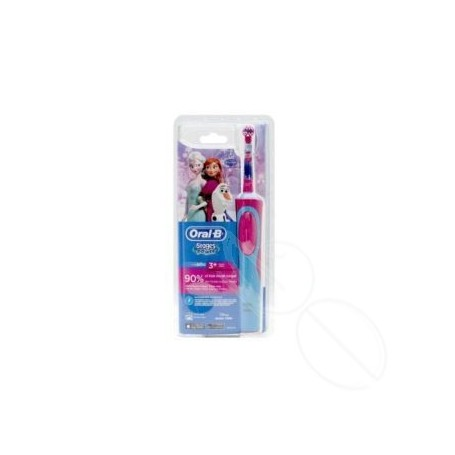 CEPILLO DENTAL ELECTRICO ORAL-B STAGES FROZEN +3 AÑOS SUAVE CABEZAL REPUESTO