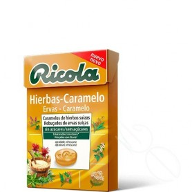 RICOLA CARAMELOS SIN AZUCAR HIERBAS - CARAMELO 50 G