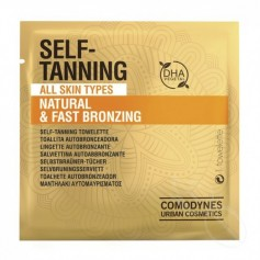 COMODYNES SELF-TANNING COLOR UNIFORME NATURAL 8 TOALLITAS