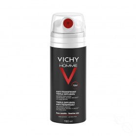 VICHY HOMME DESOD.SPRAY TRIPLE DIF 150ML