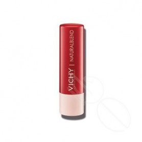 NATURAL LIPS BALSAMO LABIAL HIDRATANTE CON COLOR ROJO 4,5 G