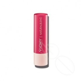 NATURAL LIPS BALSAMO LABIAL HIDRATANTE CON COLOR FUCSIA 4,5 G