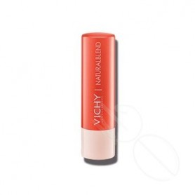 NATURAL LIPS BALSAMO LABIAL HIDRATANTE CON COLOR CORAL 4,5 G