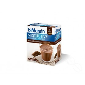 BIMANAN SUSTITUTIVE BATIDO DE CHOCOLATE 330 ML 5 Sobres