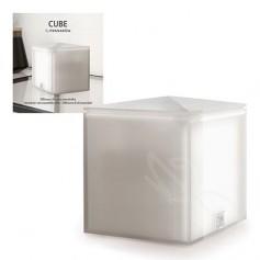 Pranarom Difusor Aceites Esenciales Cube Gris Claro