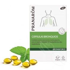 Aromaforce Capsulas Bronquios Bio 30 Capsulas