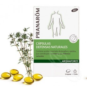 Aromaforce Capsulas Defensas Naturales Bio 30 Capsulas
