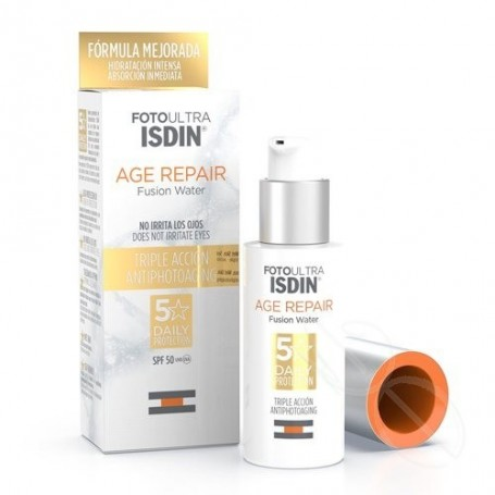 FOTOULTRA ISDIN AGE REPAIR WATER LIGHT TEXTURE 50 ML
